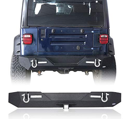 jeep bumpers tj rear - 4