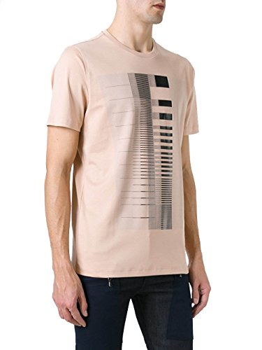 Diesel Black Gold Herren 00SYE1BGTIN7AW Beige Baumwolle T-Shirt