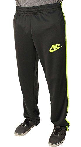 Nike Mens Running Track Pants Futura Gray/Yellow