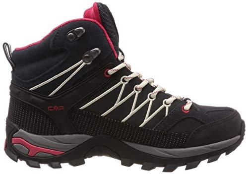 CMP Damen Rigel Mid Wmn Shoe Wp Trekking-& Wanderstiefel, Grau (Antracite-Off White 76uc), 38 EU 6