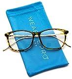 Rectangular Blue Light Elegant Metal Frame Modern Glasses (Tortoise Frame)