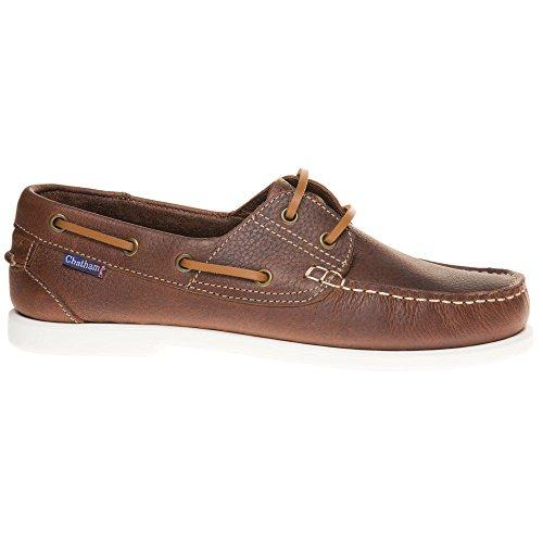 Chatham Marine The Bow Hombre Zapatos Marrón Marrón