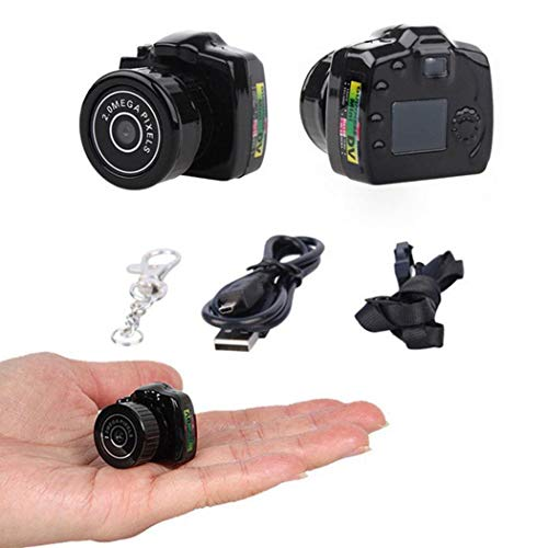 Mini Smallest Video Camera, Mini Pocket DV Camcorders Micro Video Recorder, Spy Hidden Pinhole Web Cam
