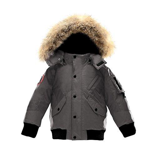 Price comparison product image Triple F.A.T. Goose Kids Scotia Premium Down Jacket (7,  Grey)