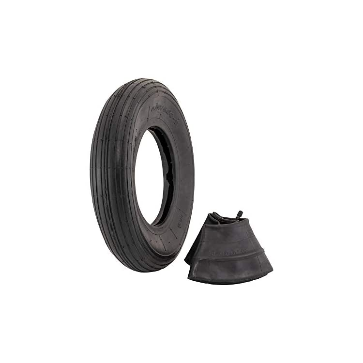 4.80/4.00-8″ Replacement Pneumatic Wheel Tire and Tube