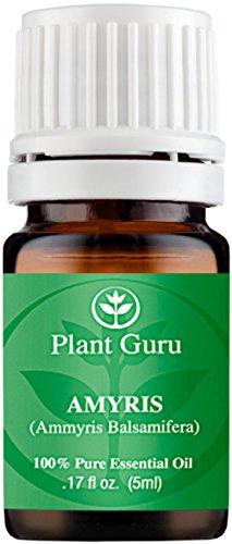 Amyris Essential Oil. 5 ml. 100% Pure, Undiluted, Therapeutic Grade.