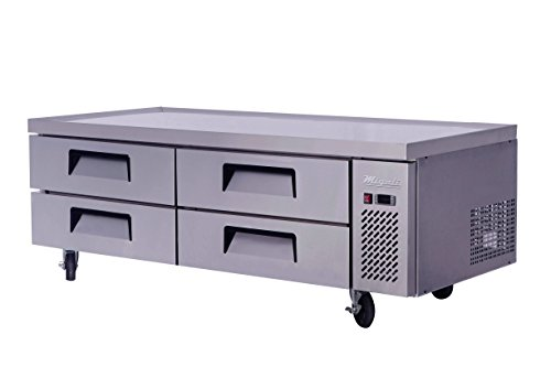 Migali C-CB72-76-HC Competitor Series Refrigerated Equipment Stand, Chef Base, 76