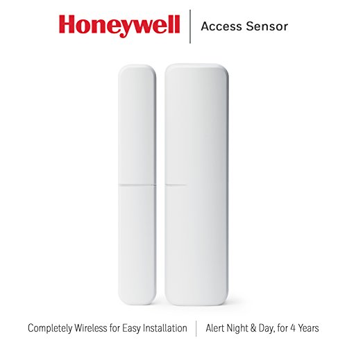 Honeywell RCHSWDS1 Smart Home Security Access Sensor for Windows & Doors, White