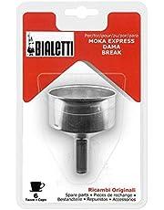 Bialetti Reservefiltertrechter voor Moka Express-koffiezetapparaat, 6 kopjes
