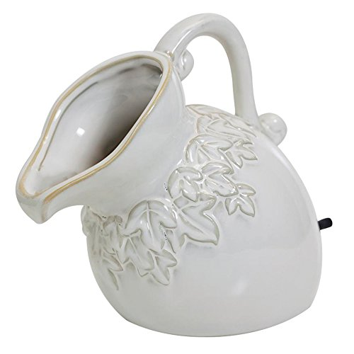 Ornament Spitter Pond (Oase Ceramic White Pouring Pitcher Spitter- 45407)