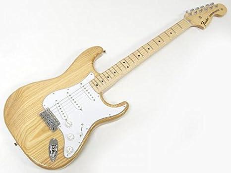 Fender Japón ST71/fresno Stratocaster (Nat/M) japonés guitarra eléctrica (importación