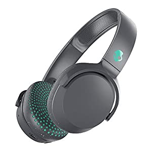 Skullcandy Riff Wireless On-Ear Headphone – Grey/Teal Gray/Speckle/Miami
