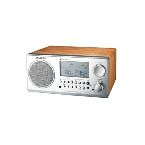 Sangean WR-2 Digital AM/FM Radio Tablero de la mesa wr-2wl: Amazon ...