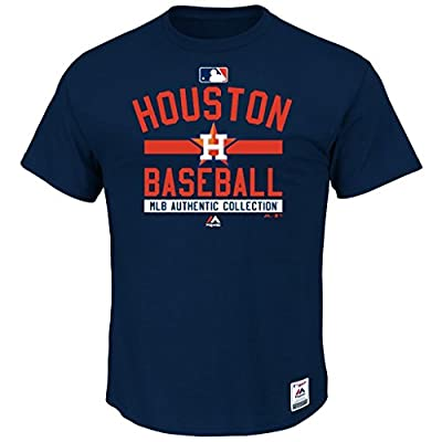 MLB Men's Authentic Collection Team Property T-Shirt (Small, Houston Astros)