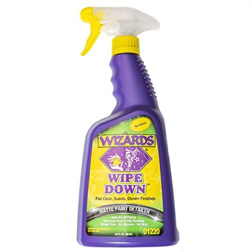 Wizards Quick Detail (22 oz, Wipe Down Matte - Paint Wizard