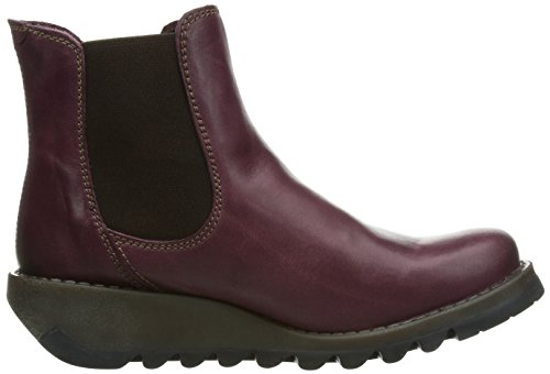 Fly Salv London Purple Boots Chelsea Women Purple rxrzqwO
