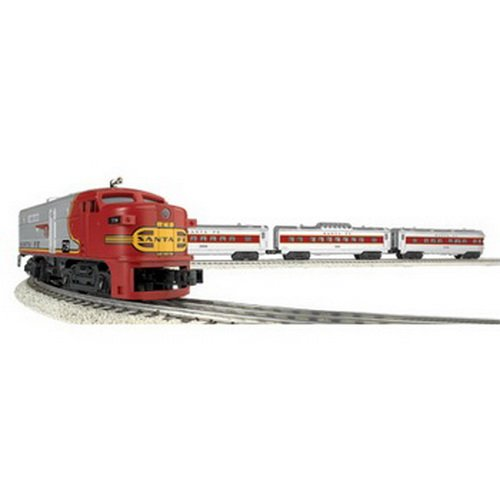 Lionel O Scale Train - Williams by Bachmann Trains - Santa Fe Flyer Complete Electric O Scale Train Set