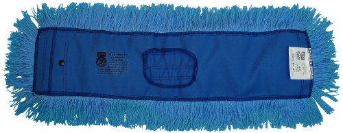 Zephyr 13772 Dura-Twist Dust Mop Head, 72'' Length x 5'' Width (Pack of 6) by Zephyr