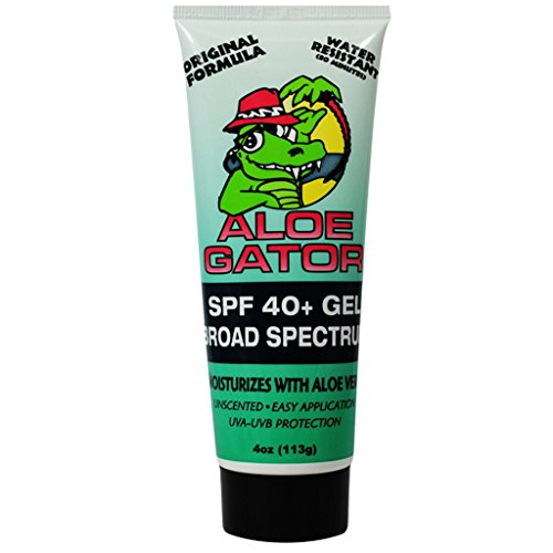 Aloe Gator SPF 40+ Gel (4-Ounce)