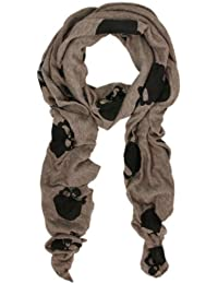 Premium Soft Long Cool Skulls Print Scarf - Different Colors Available