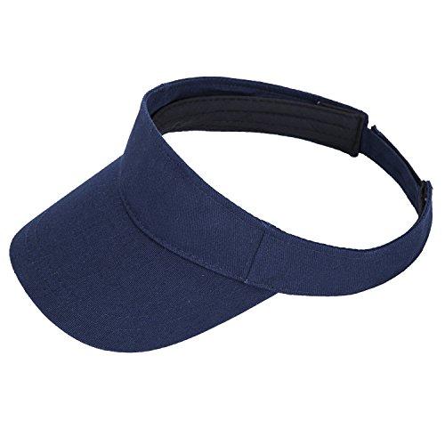 8fc2ca57eda41 PENGTU Premium Visor Cap Lightweight Comfortable Sun Protector Adjustable  Strap
