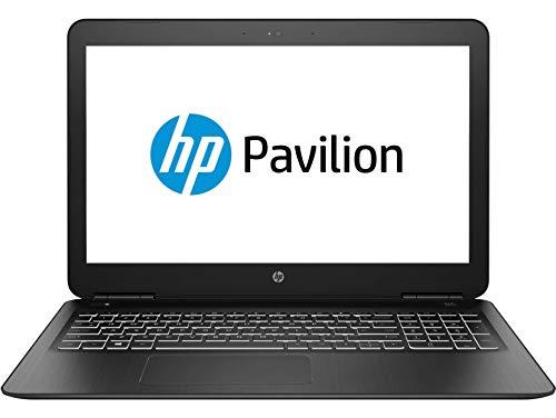 HP Pavilion 15-bc520ns – Ordenador portátil de 15.6″ FullHD (Intel Core i7-9750H, 16GB RAM, 1TB HDD + 512GB SSD , NVIDIA GTX1650-4GB, sin sistema operativo) negro – Teclado QWERTY Español