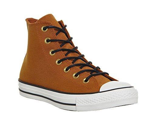 Converse Chuck Taylor All Star Well Worn Ox 358890-61-10 - Zapatillas de tela para unisex-adultos, color azul, talla 40 Antique Sepia Egret Black