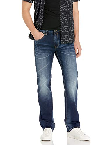 Buffalo David Bitton Men's Relaxed Straight Driven Jeans