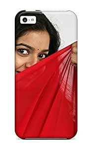 Rebeca Sameeha Silva's Shop Hot 5601868K80528381 Protective Case For Iphone 5c(colors Swathi South Indian Actress)