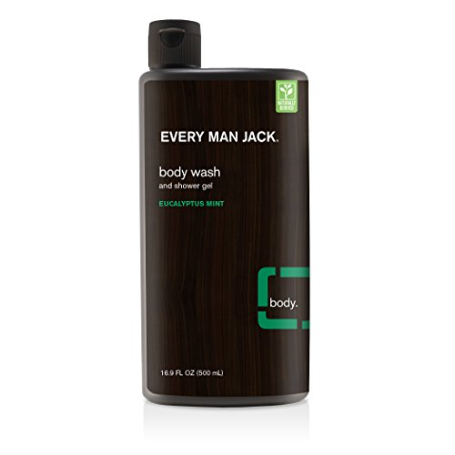 Every Man Jack Body Wash (Every Man Jack Body Wash, Eucalyptus, 16.9 Fluid Ounce)