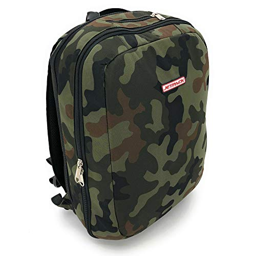 Orbit Concepts Jetpack Slim DJ Backpack for Laptop, DVS Systems, Vinyl Records, Headphones, Cables, Accessories & More - TSA Approved (Camo)