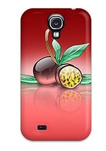 CmrdgQz2935SCYzL Tpu Phone Case With Fashionable Look For Galaxy S4 - Aqua Passion Fruit