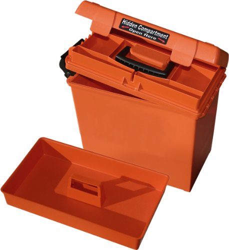 (MTM Sportsmen's Plus Utility Dry Box, Orange, Orange)