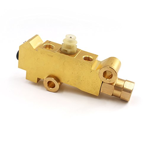 Brake Chevy Drum (UTSAUTO Disc/Drum Disc Front Drum Rear Brass Brake Proportioning Valve PV2)