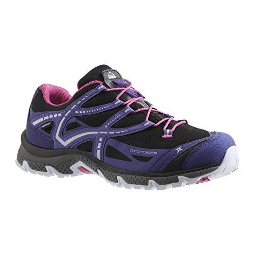 McKinley cromosoma W–negro/violeta/rosa–tamaño 3,5EU 36