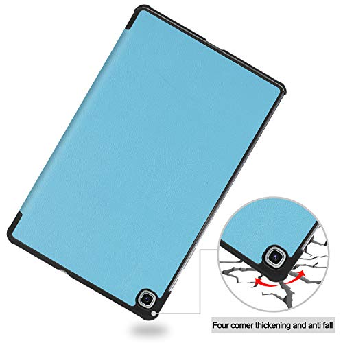 Smart Case for Galaxy Tab S6 Lite, Ratesell Lightweight Smart Trifold Stand Case Cover with Auto Sleep/Wake for Samsung Galaxy Tab S6 Lite 10.4 Inch Model SM-P610 / SM-P615 / SM-P617 Baby Blue