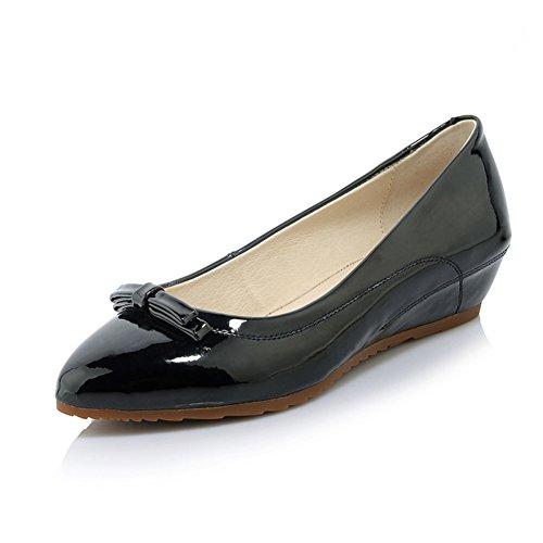 zapatos de moda dama guisantes/Rollo de huevo zapatos/En zapatos de alto arco acentuado/Zapatos de cuñas A