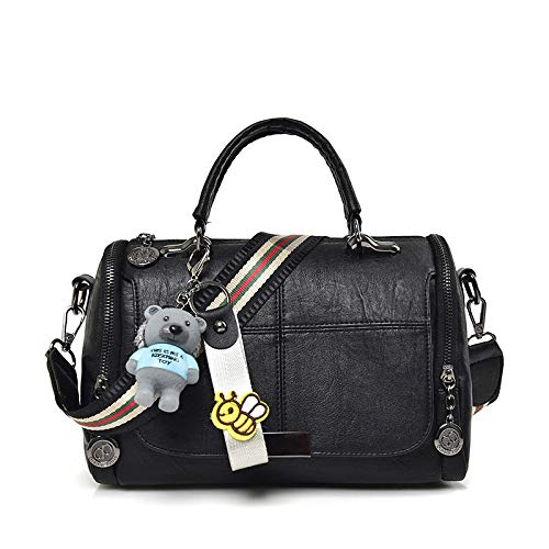 Bag Outdoor hombro XULULU bolsa Single Black Deportes Shoulder satchel minimalista Ocio de bag xqwqv