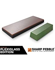 Sharp Pebble Premium Leather Strop with Polishing Compound-Knife Stropping Block Kit for Sharpening & Honing- Knives, Straight Razor, Woodcarving Chisels - with eBook