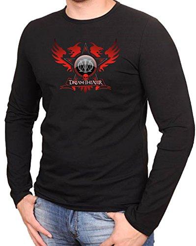 Dream Theater Stern Schwarze Langarmshirt -101-LA