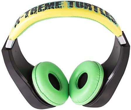 First Act - Auriculares de Diadema, diseño de Las Tortugas Ninja