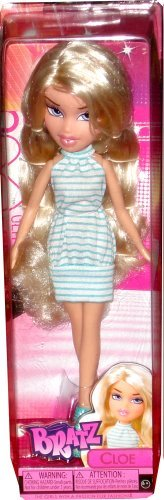 Bratz Cloe Doll in Blue & White Dress