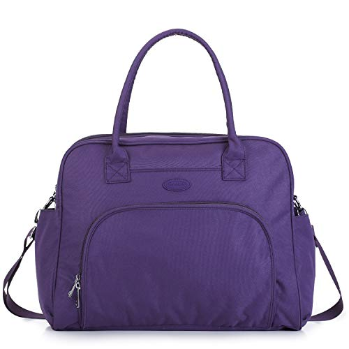 Lily & Drew Carry On Weekender Overnight Travel Shoulder Bag for 15.6 Inch...