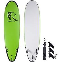 """Raystreak 7'2"""" Crocodile Groove Soft Surfboard Beach Ocean Surfing Body Foamie Board"""