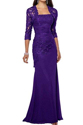 Damen Lang Schnitt Promkleider Partykleider Blau Charmant Elegant Brautmutterkleider Lila Schmaler Abendkleider Satin ddwO7q