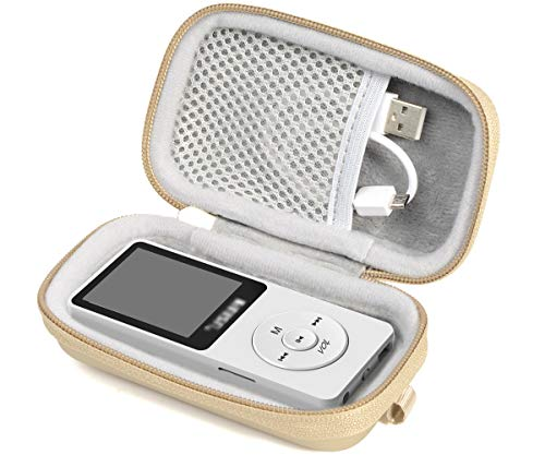 Alltravel Wireless Earbuds Charger Protective cas for Sony WF1000X/BM1, SOL  Republic Amps and MP3 Player Like AGPTEK A01T, U1, B03, C3, Rocker V2,