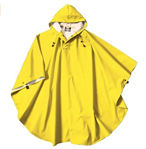 Charles River Apparel Boys Pacific Poncho (Yellow) - Yellow Kids Poncho