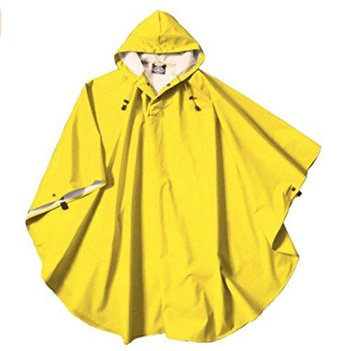 Charles River Apparel Boys Pacific Poncho (Yellow) - Yellow Kids Poncho