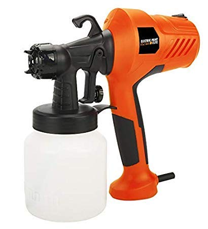 Runilex Electric Paint Sprayer High-Pressure Airless Spray Gun Machine for  Painting Cars, Wood, Furniture, Wall & Woodworking (Orange, Plastic):  Amazon.in: Home Improvement