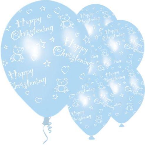 a45ede36ccf9 Baby Boy Blue Elephant Bunting Christening Celebration Party ...